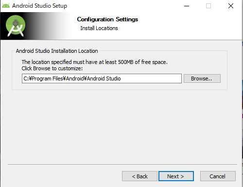 Android Studio Setup