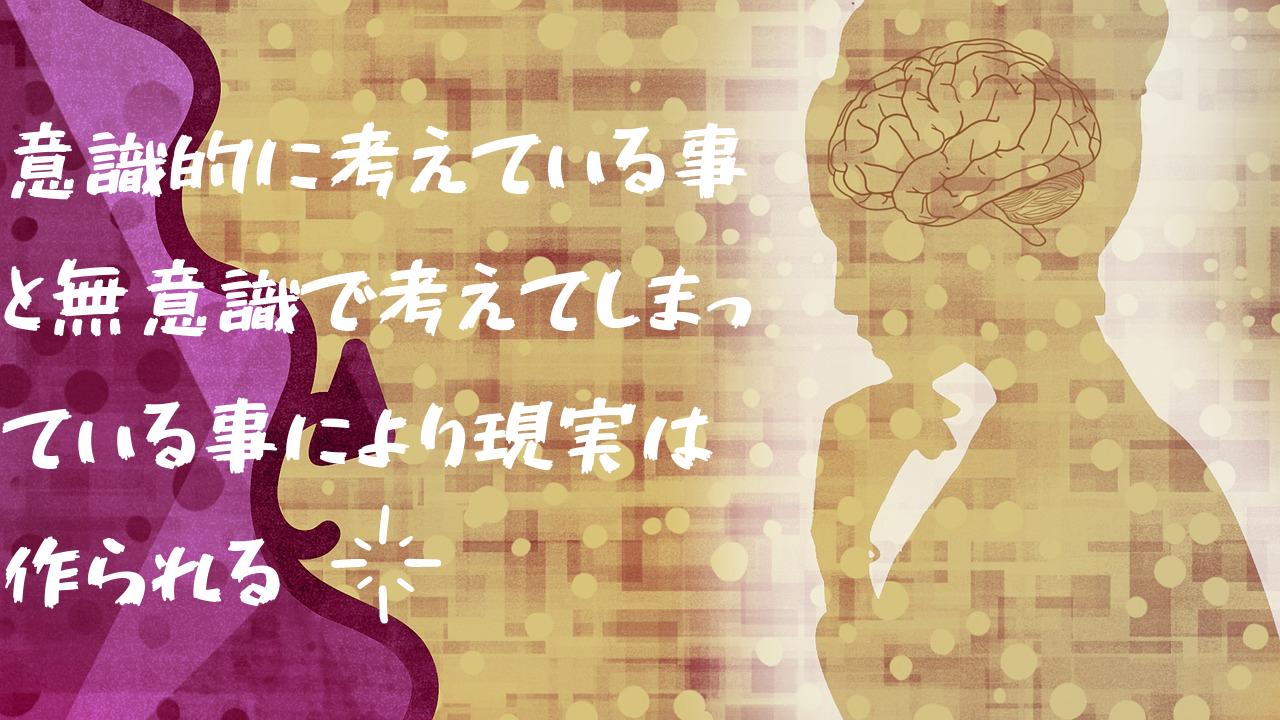 無意識と意識